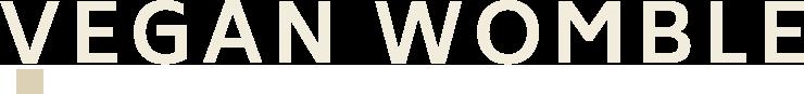 vegan womble wordmark